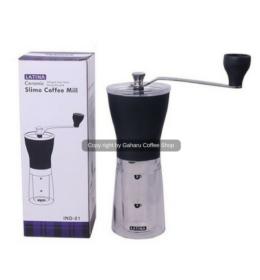 Coffee Grinder Latina Slimo Alat Penggiling Kopi Manual Bagus Murah semarang gaharu coffee shop