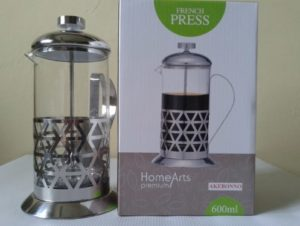 French Press Akebonno 600 ml plunger Alat Kopi Tanpa Ampas (2)