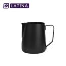 Latina STA-3311 Manta Black Milk Jug Teflon 340 ml Pitcher Alat Kopi