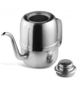 Olive Kettle Gooseneck Teko Leher Angsa 540 ml Alat Kopi Pour Over V60 murah gaharu coffee shop pour over semarang untuk menuang kopi