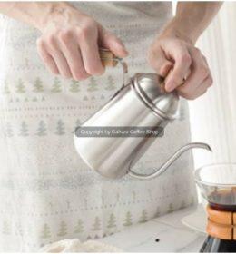 Teko Leher Angsa BhaVanA Cocok buat Alat Kopi Saring V60 Coffee Kettle