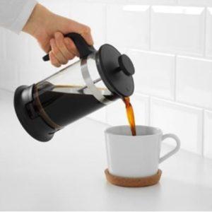 French Press 1000 ML Coffee and Tea Maker Alat Saring Kopi Bagus Murah Plunger lazada gaharu alat kopi Coffee terbaik kapal api
